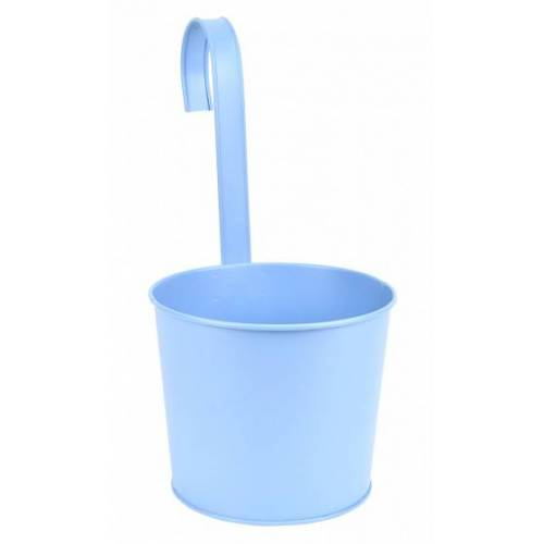 Esschert Design blumentopf mit Haken 34 x 30,2 cm Zink blau