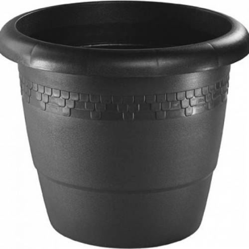 Hega blumentopf Lounge 45,3 Liter 50 cm schwarz