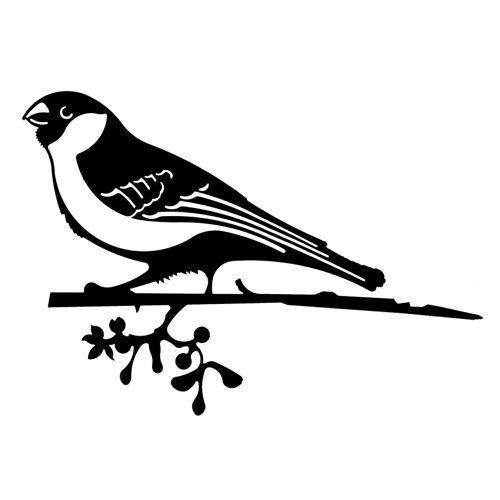 ART Bizniz gartenspieß Gimpel Gimpel 21 x 33 cm Stahl schwarz
