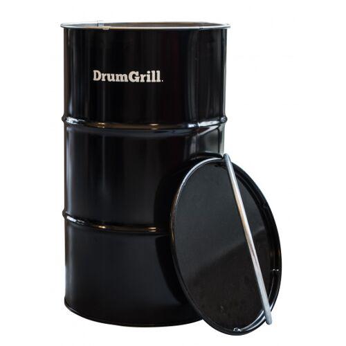 DrumGrill barbecue Medium 46 x 82 cm Stahl schwarz 4 teilig