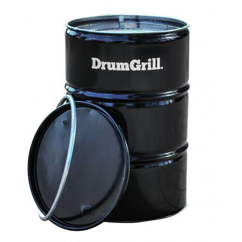DrumGrill barbecue Groß 57 x 87 cm Stahl schwarz 4 teilig