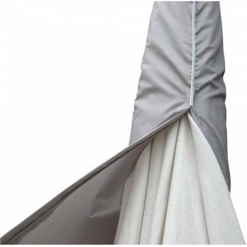 Eurotrail sonnenschirmbezug 135 cm Polyester grau