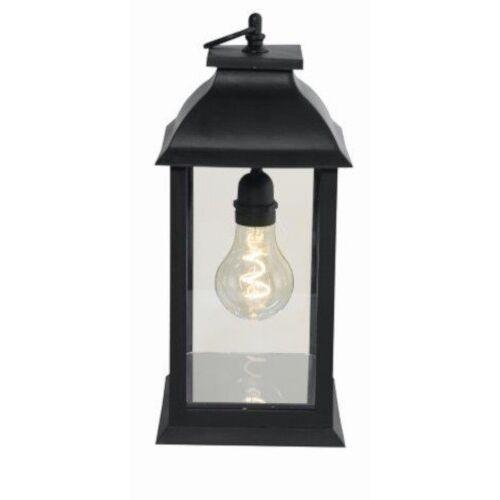 Luxform stimmungslampe A60 LED 1,5V 14 x 28 cm Glas schwarz
