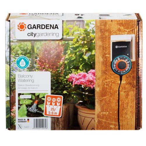 Gardena blumenkasten Bewässerungsautomat grau 5 teilig