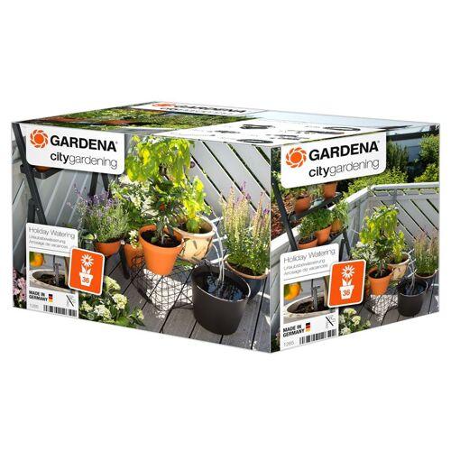 Gardena urlaubsbewässerung PVC 23,3 cm PVC orange/grau 8 teilig