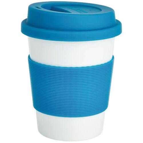 XD Design take away Becher 0,35 Liter ABS/Silikon blau
