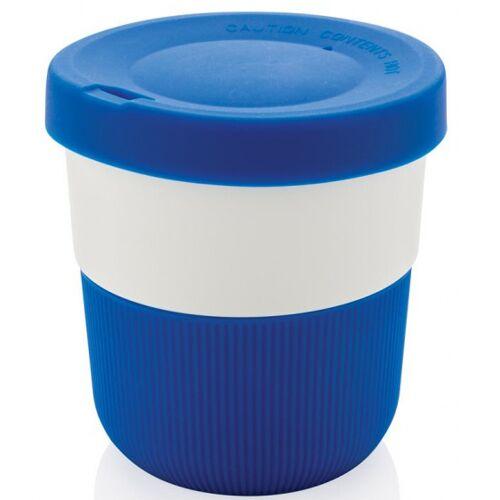 XD Design take away Becher 0,3 Liter 8,6 cm ABS/Silikon blau