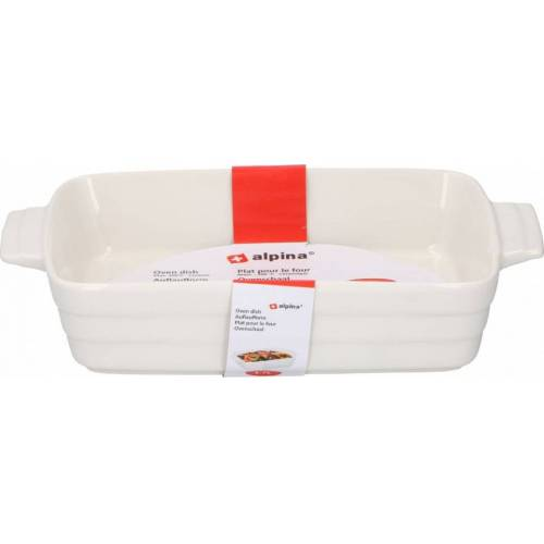 Alpina backform 1,7 Liter Keramik weiß
