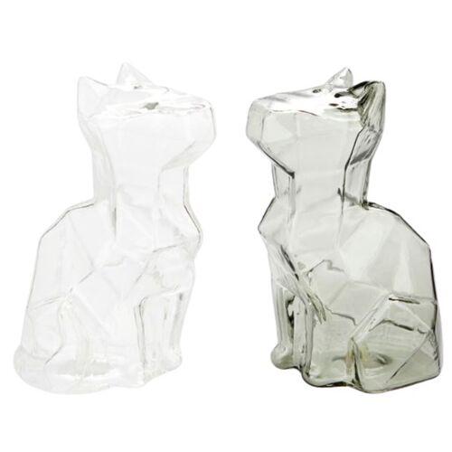 Balvi salz  und Pfefferstreuer Katze 12 x 6,5 x 7,5 cm Glas 2 teilig