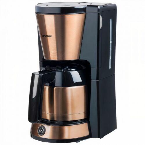Bestron kaffeemaschine mit Thermoskanne 35 cm Stahl Kupfer