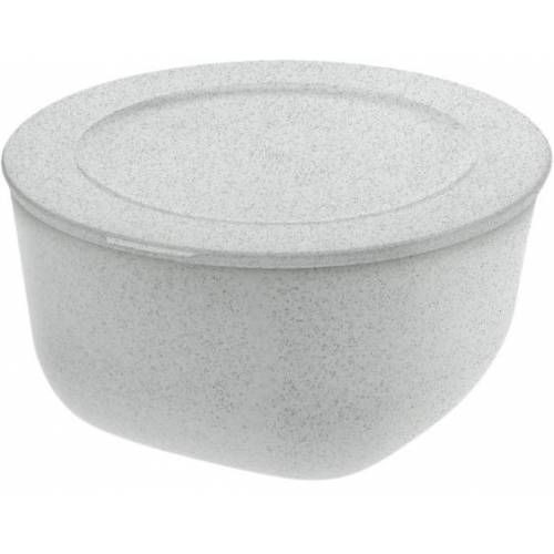 Koziol lunchbox Connect 2 Liter 20,5 cm grau