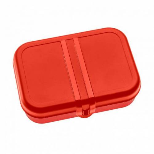 Koziol lunchbox Pascal 2,4 Liter 23 x 17 cm rot