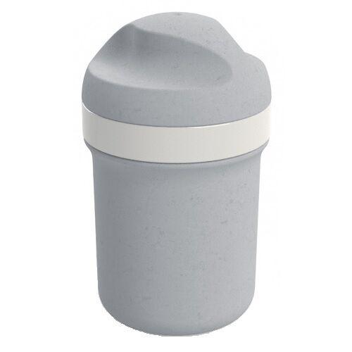 Koziol mini Trinkflasche Oase 200 ml 7,5 x 12 cm grau