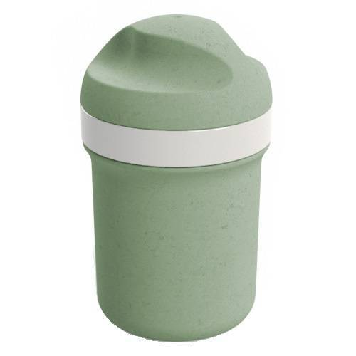 Koziol mini Trinkflasche Oase 200 ml 7,5 x 12 cm grün