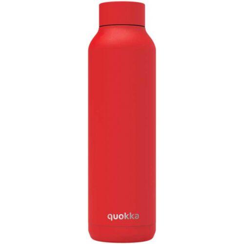 Quokka trinkflasche Massiv 630 ml Edelstahl rot