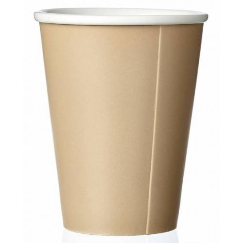 Viva kaffeebecher Andy 320 ml Porzellan beige