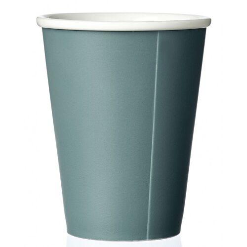 Viva kaffeebecher Andy 320 ml Porzellan blau