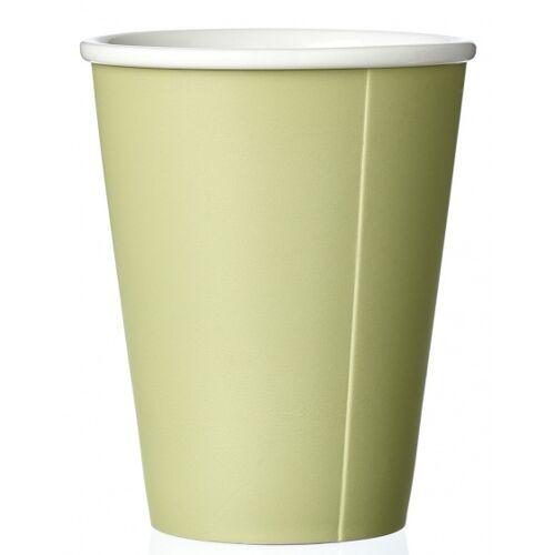 Viva kaffeebecher Andy 320 ml Porzellan gelb