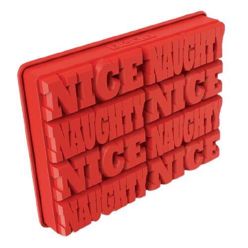 Zoku eiswürfelbehälter Naughty Nice 11,5 x 17,6 cm Silikon rot