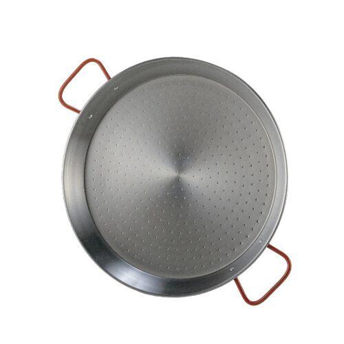 Garcima paellapfanne 34 cm Stahl silber