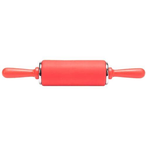 Patisse mini Nudelholz Junior 24 x 5 cm Silikon rot