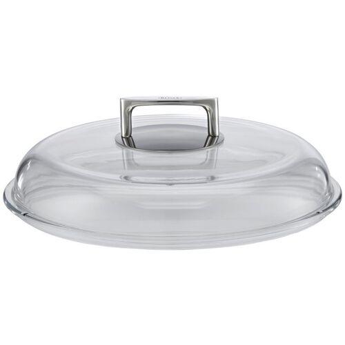 Rösle topfdeckel 29,3 x 29,3 x 9,5 cm Edelstahl/Glas silber