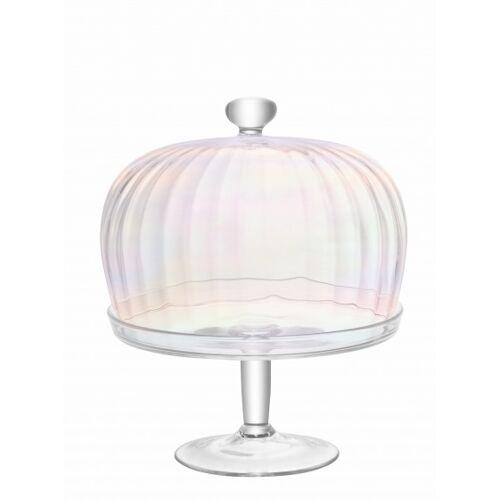 L.S.A. tortenständer Pearl 27,2 x 31,1 cm Glas transparent