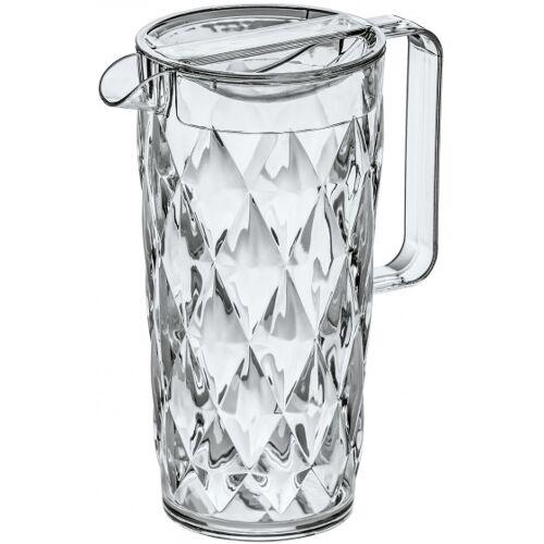 Koziol wasserkanne Crystal 1,6 Liter Glas transparent