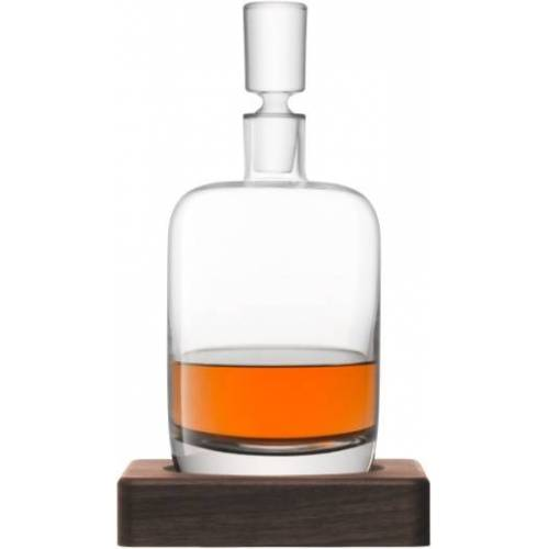 L.S.A. dekanter Whiskey Renfrew 1,1 Liter Glas transparent