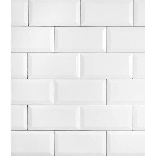 Wenko spritzschutz Splash Guard70 x 60 cm Glas weiß