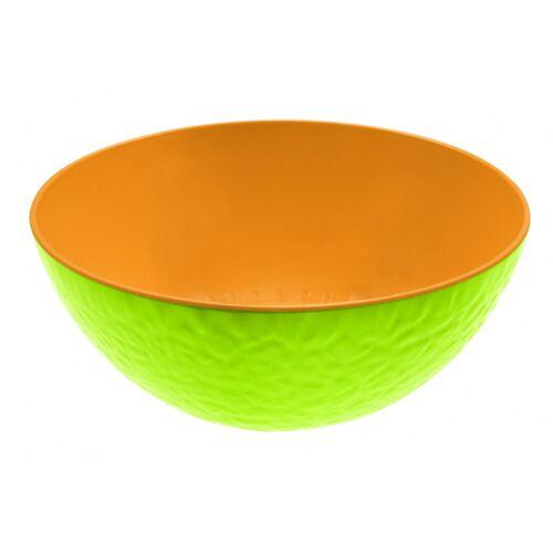 Zak!Designs schale Melone 20 x 9 cm Melamin grün/orange