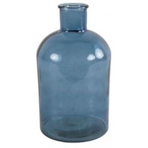 Countryfield vase Dena 17 x 31 cm Glas blau