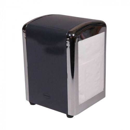 Cabanaz serviettenhalter 14 cm Stahl/Chrom dunkelgrau