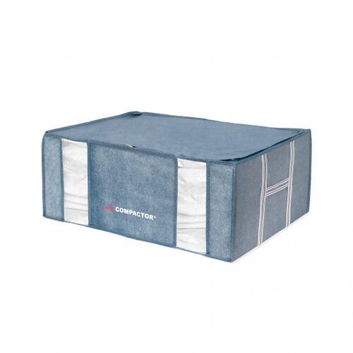 Compactor vakuum Aufbewahrungskorb 65 x 50 x 27 cm blau XXL