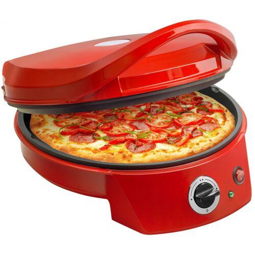 Bestron pizzaofen und  grill 1800W 37,5 x 31 cm rot