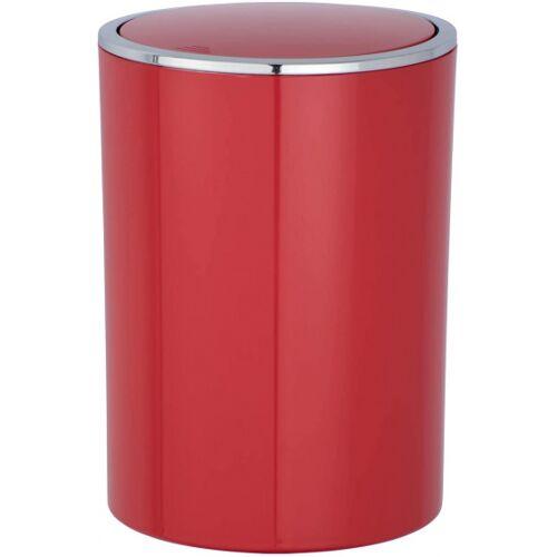 Wenko abfallbehälter Inca 5 Liter 18,5 x 25,5 cm ABS rot