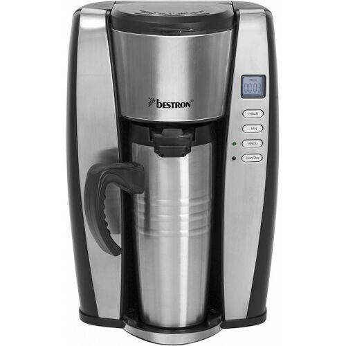 Bestron kaffeemaschinen Thermoskanne 400 ml 650W Silber 2 teilig