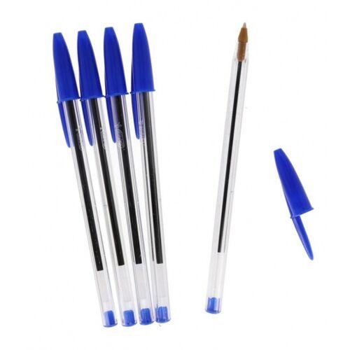 BIC kugelschreiber Cristal 15 cm 1 mm blau 5 Stück