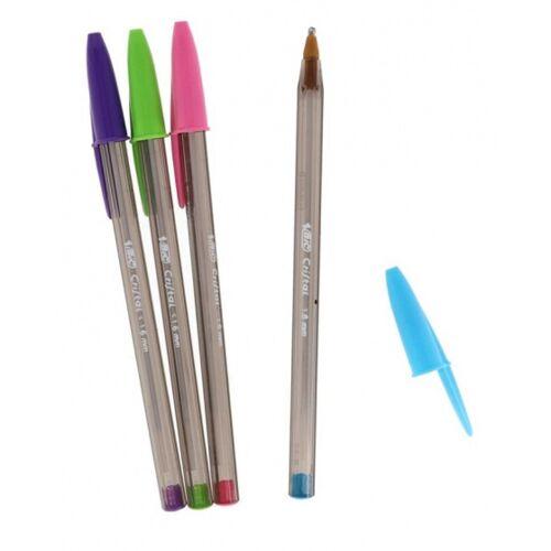 BIC kugelschreiber Cristal Fun 15 cm 1,6 mm 4 Stück