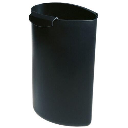 HAN abfallbehälter Moon 6 Liter schwarz