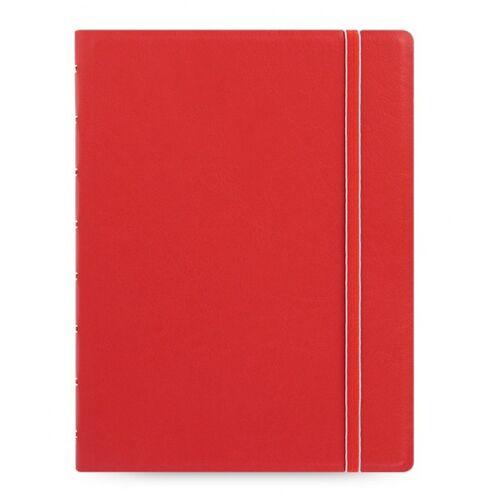 Filofax notizbuch Classic A5 Papier/Kunstleder rot