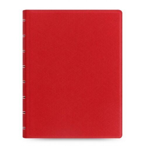 Filofax notizbuch Saffiano A5 Papier/Kunstleder rot