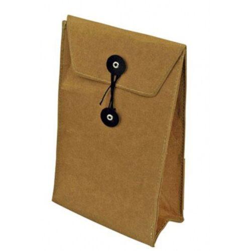 Zuperzozial brottasche 2 Liter Papier braun