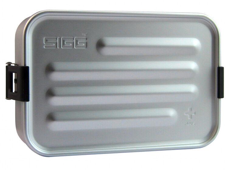 Sigg aufbewahrungsbox Metal Box Plus SAluminium silber
