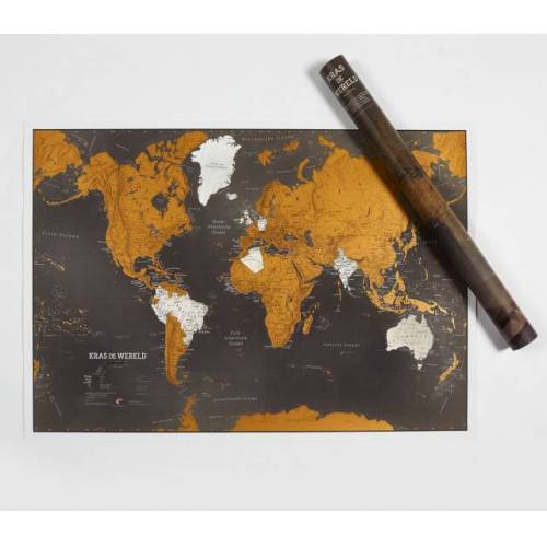 Maps International weltkarte Scratch the World