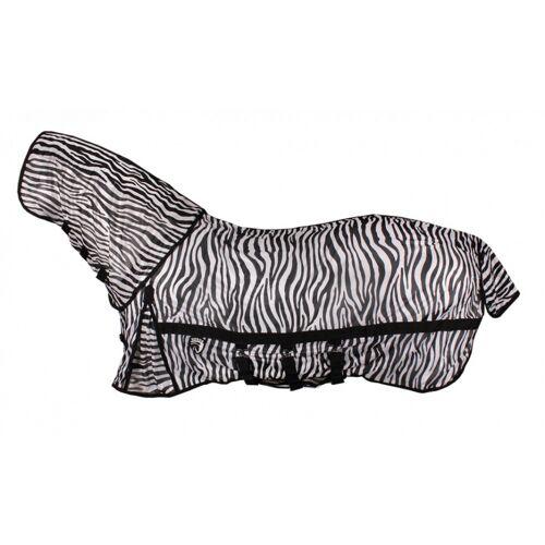 HORKA fliegendes Tuch mit Fliegenmaske Zebra Druck Größe 165/215