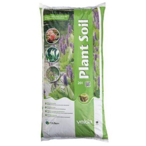 Velda teichpflanzenerde 40 Liter braun