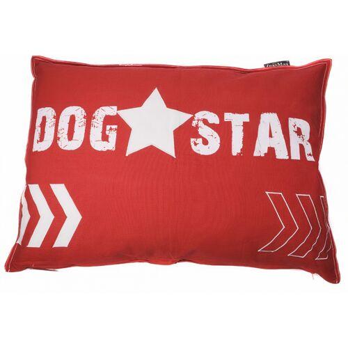 Lex & Max hundekissen DogStar 100 x 70 cm rot