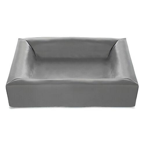 Bia Bed hundekorbbezug 70 x 60 cm Kunstleder grau