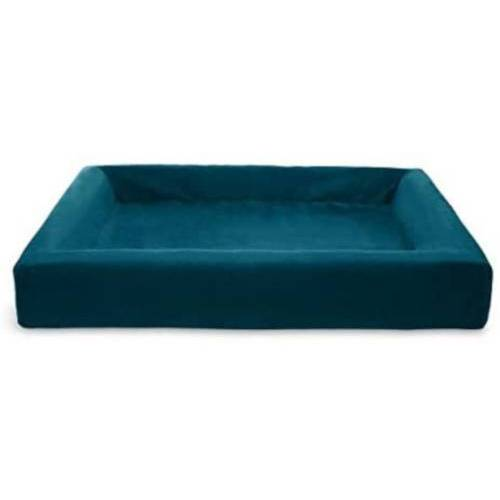 Bia Bed deckel für Hundekorb 100 x 80 cm Samt petrol blau
